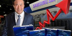 """""""삼성SDI, 중대형전지 매출 급증해 실적 증가세 지속 가능"""
