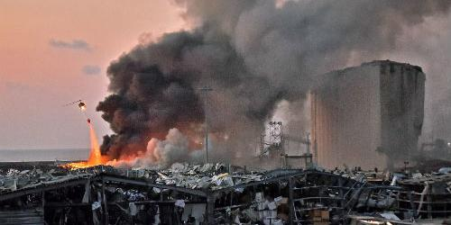 """레바논 폭발사고에 인명피해 속출, 외교부 """"한국인 피해 아직 없어"""""""