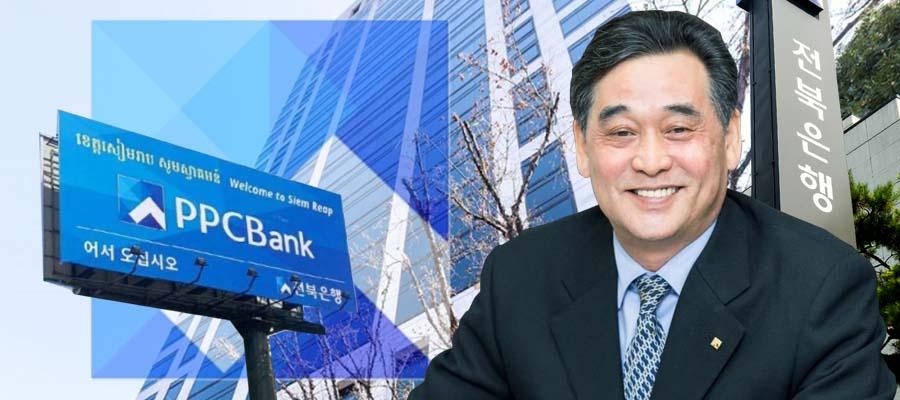 [CEO&주가] JB금융지주 주가 V자 반등, 김기홍 해외 인수합병 재가동