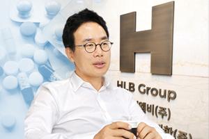 진양곤 에이치엘비 대표이사 회장.