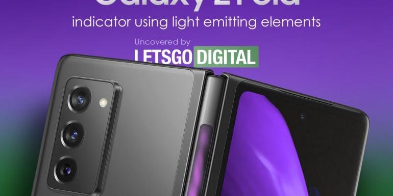 """외국매체 """"삼성 갤럭시Z폴드3 외부 접힘부에 LED 표시기 넣을 수도"""""""