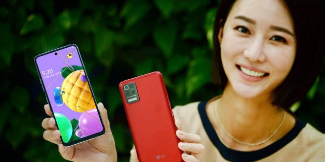 """LG전자 보급형 스마트폰 Q52 내놔, 두 가지 색상에 출고가 33만 원"