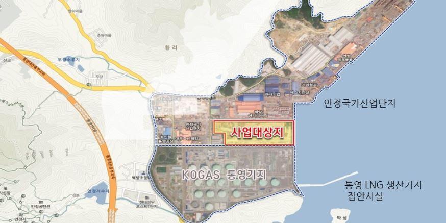 """HDC그룹, 한화건설과 8천억 규모 통영 LNG발전소 시공계약 맺어"