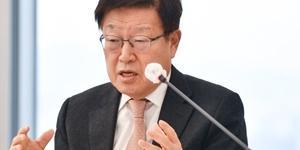 """""""무역협회 회장 김영주"""