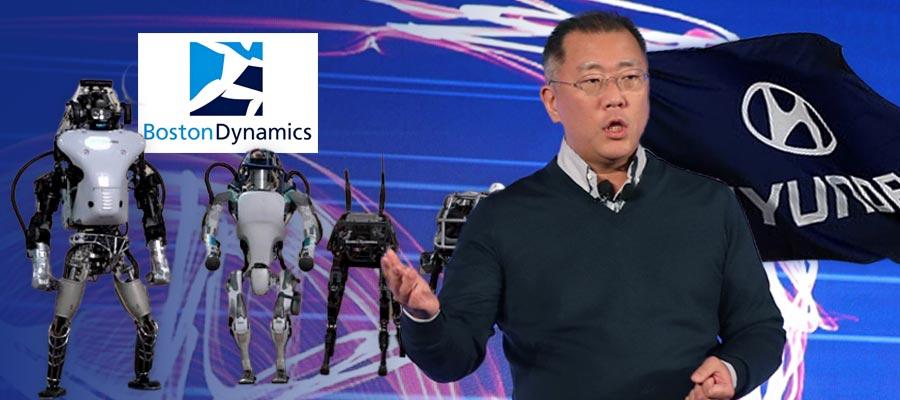 [이슈톡톡] 현대차 인수 미국 로봇회사에 정의선 직접투자가 주목받는 까닭