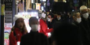 """""""일본 코로나19 하루 확진 2764명으로 줄어, 중국도 82명으로 감소"""