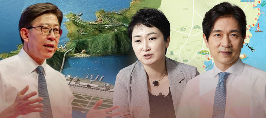 [이슈톡톡] 부산시장은 국민의힘 따논 당상인가, 박형준 이언주 박성훈 뜨겁다