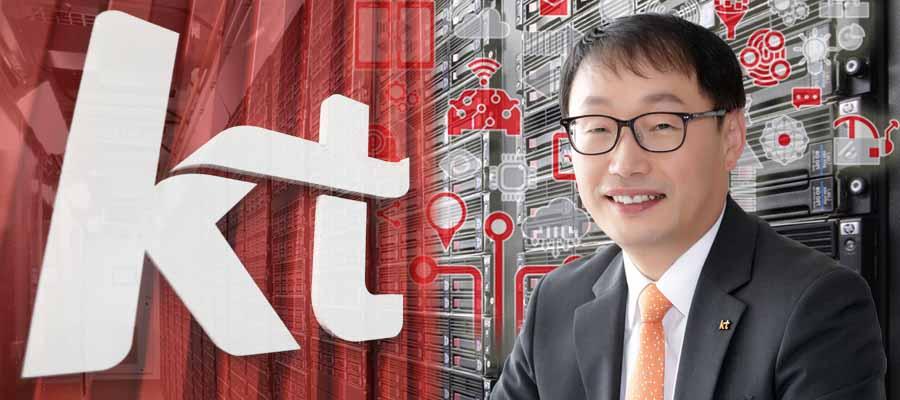 [CEO&주가] KT 주가 배당에 꿈틀, 구현모 디지털플랫폼기업으로 날고 싶다