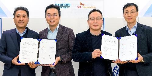 """SK이노베이션, 현대차 기아와 하이브리드자동차 배터리 개발 손잡아"