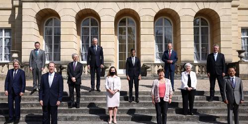 """""""해외언론 """"G7 재무장관들, 글로벌 최저 법인세율 15%로 합의"""""""