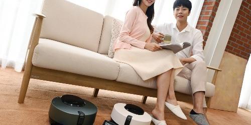 """""""LG전자 인공지능 강화한 로봇청소기 신제품 내놔, 가격 129만 원"""