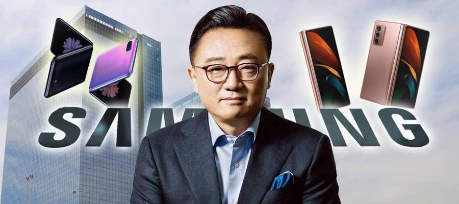 [CEO&주가] 삼성전자 주가 10만전자 가는 길, 고동진 폴더블폰 중요하다