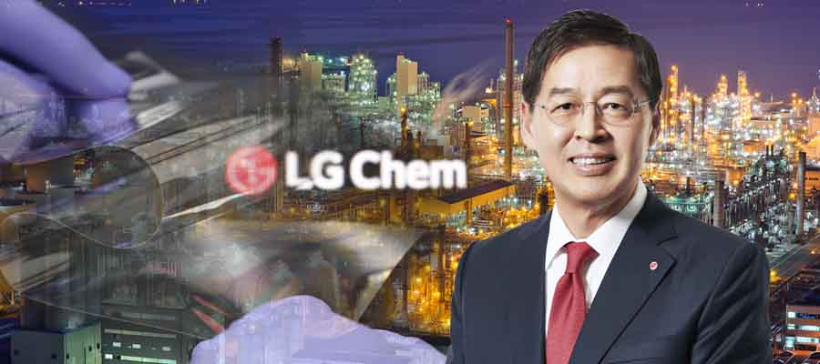 [CEO&주가] LG화학 주가 배터리에 발목잡혀, 신학철 첨단소재로 날개 달까