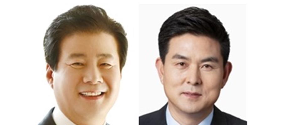 산청함양거창합천 무소속 김태호, 통합당 강석진 상대로 재기전 '험난'
