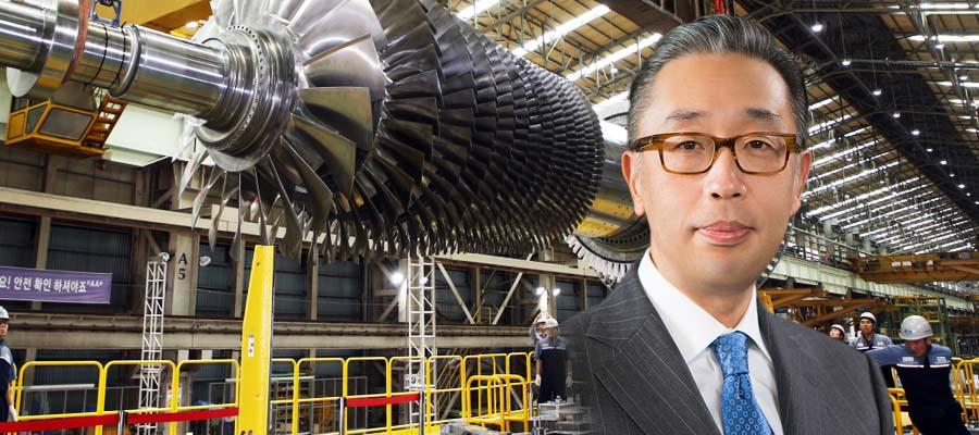 [오늘Who] 박지원, 두산중공업 개발 가스터빈 앞세워 체질개선 박차