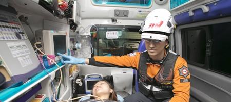 KT, 소방청 세브란스병원과 협력해 응급치료체계에 5G통신 적용