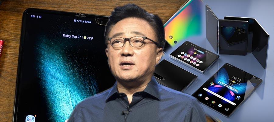 [오늘Who] 고동진, 강하고 싼 '갤럭시폴드2'로 삼성전자 혁신 보인다
