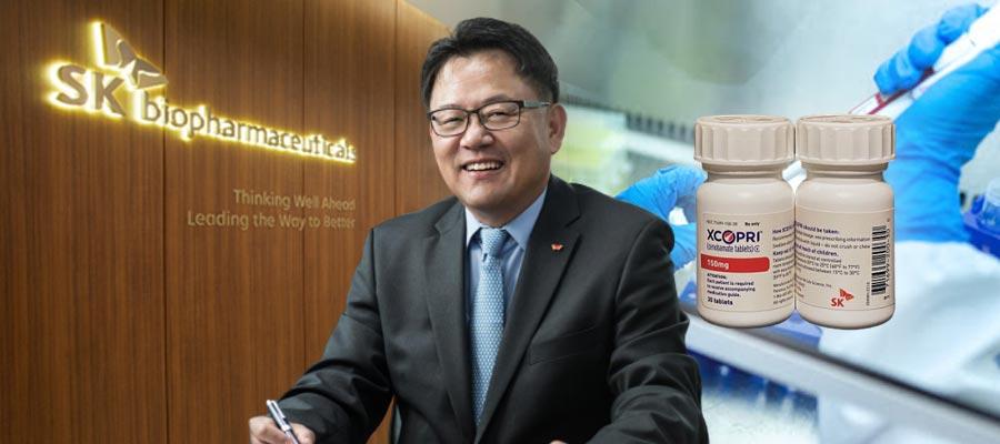 조정우, SK바이오팜의 뇌전증 치료제 신약 라인업 확대에 힘쏟아