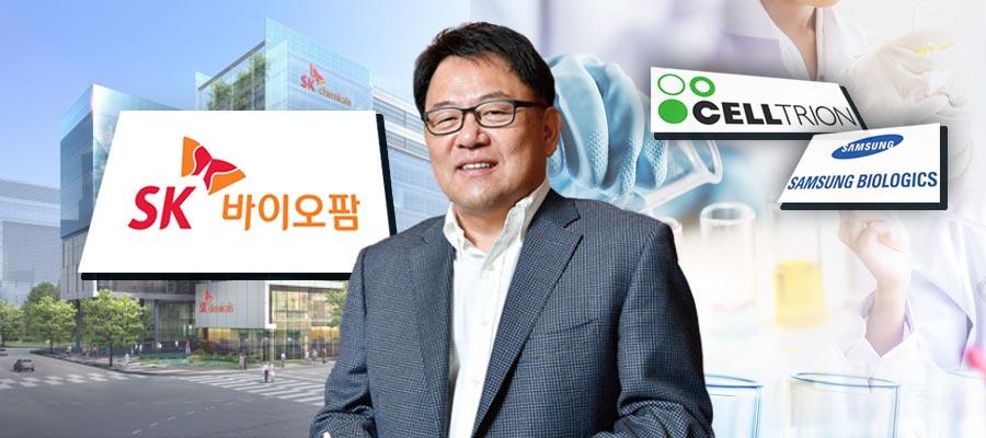 SK바이오팜, '바이오 대장주' 삼성바이오로직스 셀트리온 뛰어넘을까