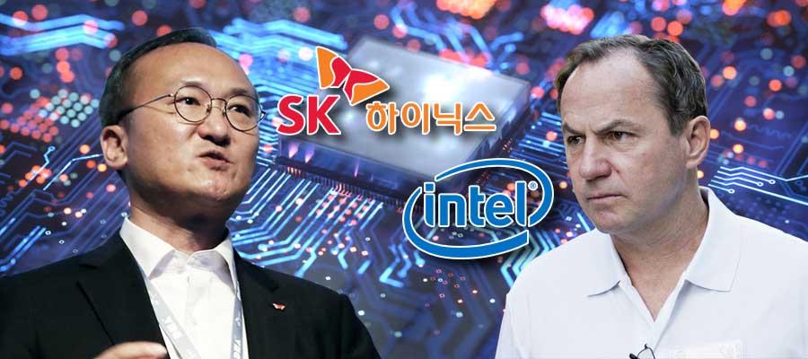 SK하이닉스 고성능 낸드플래시 전략에 인텔 144단 낸드로 가로막아