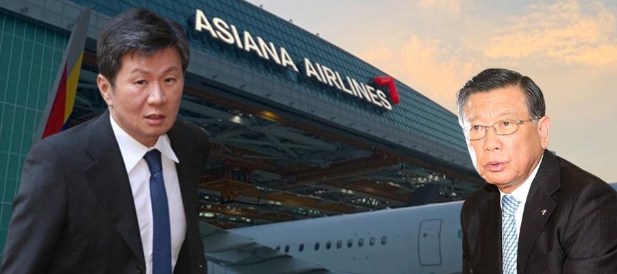 '인수자' 정몽규, 박삼구의 아시아나항공 경영에 의심의 시선 보내다