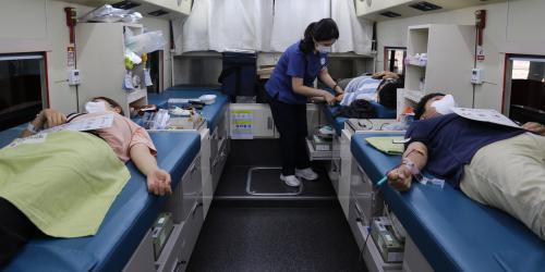 """""""한화손해보험 임직원 추석 맞이 헌혈캠페인 참여,"""