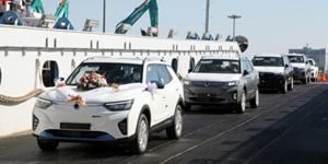 """""""쌍용차, 첫 전기차 '이모션'의 유럽 수출물량 200 대 선적"""