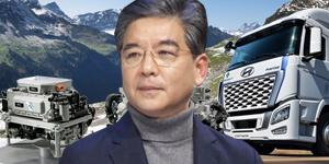 """""""현대차 수소트럭 경쟁자 속속 등장, 장재훈 시장선점 발걸음 더 빨리"""
