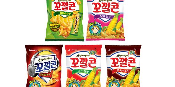 """""""롯데제과 꼬깔콘 누적매출 1조4천억 달성, 30년 만에 30배 증가"""