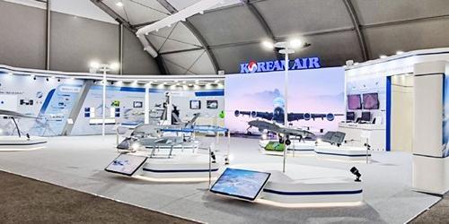 """""""대한항공, 항공우주전시회 아덱스2021에 참가해 첨단 항공기술 전시"""