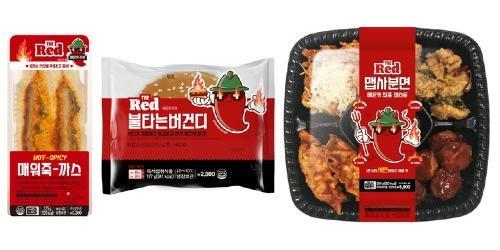"""""""이마트24, 2030세대 직원들이 개발한 매운맛 신제품 4종 내놔"""