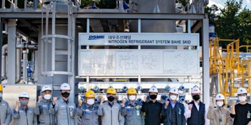 """""""대우조선해양, 선박운영 효율성 높이는 LNG재액화시스템 시연회 열어"""